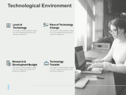 Technological Environment Research Ppt Powerpoint Presentation Format