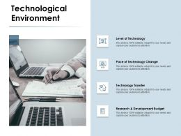 Technological Environment Research Ppt Powerpoint Presentation Professional Example