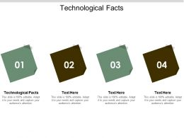 Technological Facts Ppt Powerpoint Presentation Show Shapes Cpb