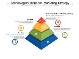 Technological Influence Marketing Strategy Ppt Powerpoint Presentation Infographics Vector Cpb