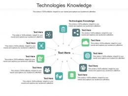 Technologies Knowledge Ppt Powerpoint Presentation Layouts Ideas Cpb