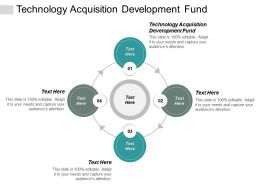 Technology Acquisition Development Fund Ppt Powerpoint Presentation Icon Example Topics Cpb