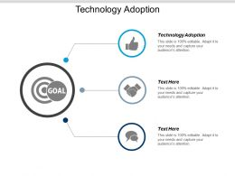 Technology Adoption Ppt Powerpoint Presentation Model Topics Cpb