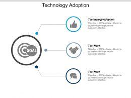 Technology Adoption Ppt Powerpoint Presentation Model Topics Cpb