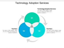 Technology Adoption Services Ppt Powerpoint Presentation Slides Example Cpb