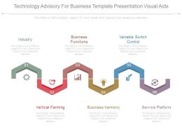Technology Advisory For Business Template Presentation Visual Aids