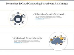 Technology And Cloud Computing PowerPoint Slide Images