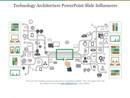 Technology Architecture Powerpoint Slide Influencers