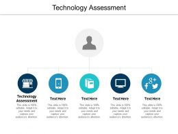 Technology Assessment Ppt Powerpoint Presentation Inspiration Demonstration Cpb