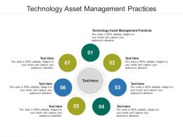 Technology Asset Management Practices Ppt Powerpoint Presentation Inspiration Smartart Cpb