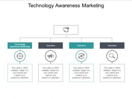 Technology Awareness Marketing Ppt Powerpoint Presentation Pictures Samples Cpb