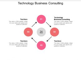 Technology Business Consulting Ppt Powerpoint Presentation Styles Icon Cpb