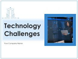 Technology Challenges Analytics Management Professional Development