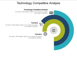 Technology Competitive Analysis Ppt Powerpoint Presentation Ideas Diagrams Cpb