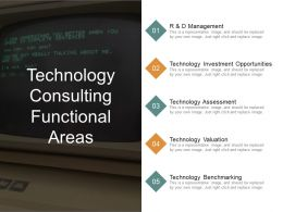 Technology Consulting Functional Areas Ppt Images Gallery