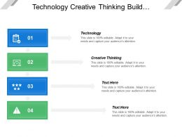 Technology Creative Thinking Build Foundation Generate Income