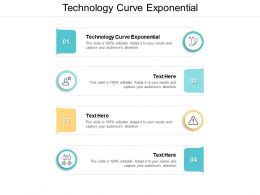 Technology Curve Exponential Ppt Powerpoint Presentation Infographic Template Files Cpb