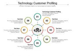 Technology Customer Profiling Ppt Powerpoint Presentation Styles Graphics Tutorials Cpb