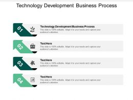 Technology Development Business Process Ppt Powerpoint Presentation Slides Pictures Cpb
