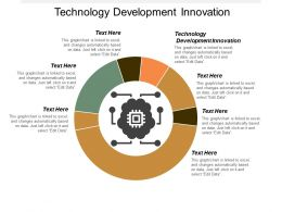 Technology Development Innovation Ppt Powerpoint Presentation Icon Format Cpb