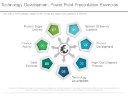 Technology Development Power Point Presentation Examples