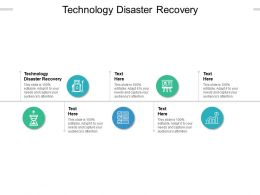 Technology Disaster Recovery Ppt Powerpoint Presentation Icon Picture Cpb