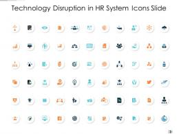 Technology Disruption In HR System Icons Slide Technology Disruption In HR System Ppt Information