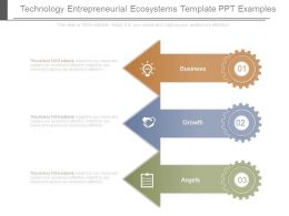 Technology Entrepreneurial Ecosystems Template Ppt Examples