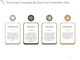 Technology Forecasting Big Data Facts Presentation Deck