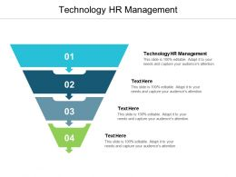 Technology HR Management Ppt Powerpoint Presentation Inspiration Clipart Images Cpb