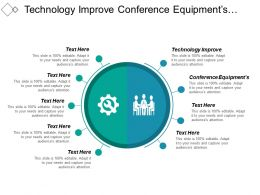 Technology Improve Conference Equipments Advertising Services Designing Printing