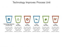 Technology Improves Process Unit Ppt Powerpoint Presentation File Sample Cpb