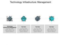 Technology Infrastructure Management Ppt Powerpoint Presentation Inspiration Cpb