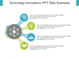 Technology Innovations Ppt Slide Examples