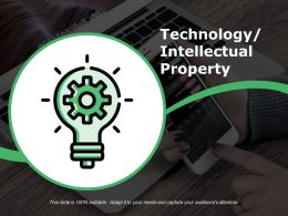 Technology Intellectual Property Template 1 Presentation Powerpoint Example