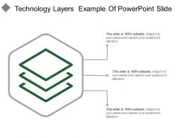 Technology Layers Example Of Powerpoint Slide
