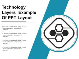 Technology Layers Example Of Ppt Layout