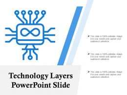 Technology Layers Powerpoint Slide