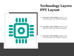 Technology Layers Ppt Layout