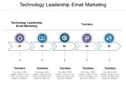 Technology Leadership Email Marketing Ppt Powerpoint Presentation Layouts Influencers Cpb