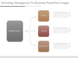 Technology Management For Business Powerpoint Images