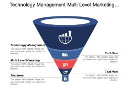 Technology Management Multi Level Marketing Business Generation Ideas Cpb