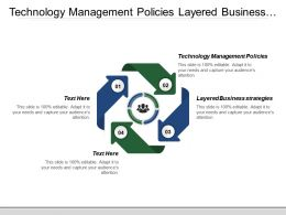 Technology Management Policies Layered Business Strategies Information Services
