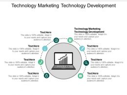 Technology Marketing Technology Development Ppt Powerpoint Presentation Ideas Visual Aids Cpb