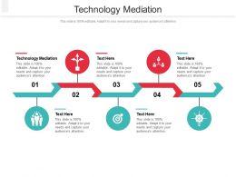 Technology Mediation Ppt Powerpoint Presentation Show Ideas Cpb