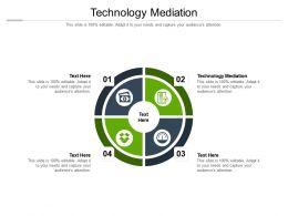 Technology Mediation Ppt Powerpoint Presentation Summary Design Inspiration Cpb