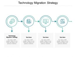 Technology Migration Strategy Ppt Powerpoint Presentation Design Cpb