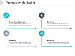 Technology Monitoring Ppt Powerpoint Presentation Ideas Layout Ideas Cpb