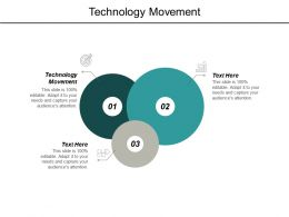 Technology Movement Ppt Powerpoint Presentation Pictures Influencers Cpb