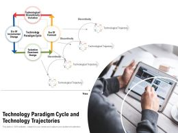 Technology Paradigm Cycle And Technology Trajectories